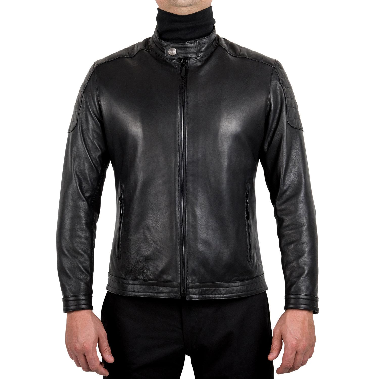 Rufino Lambskin Moto Jacket [$650]