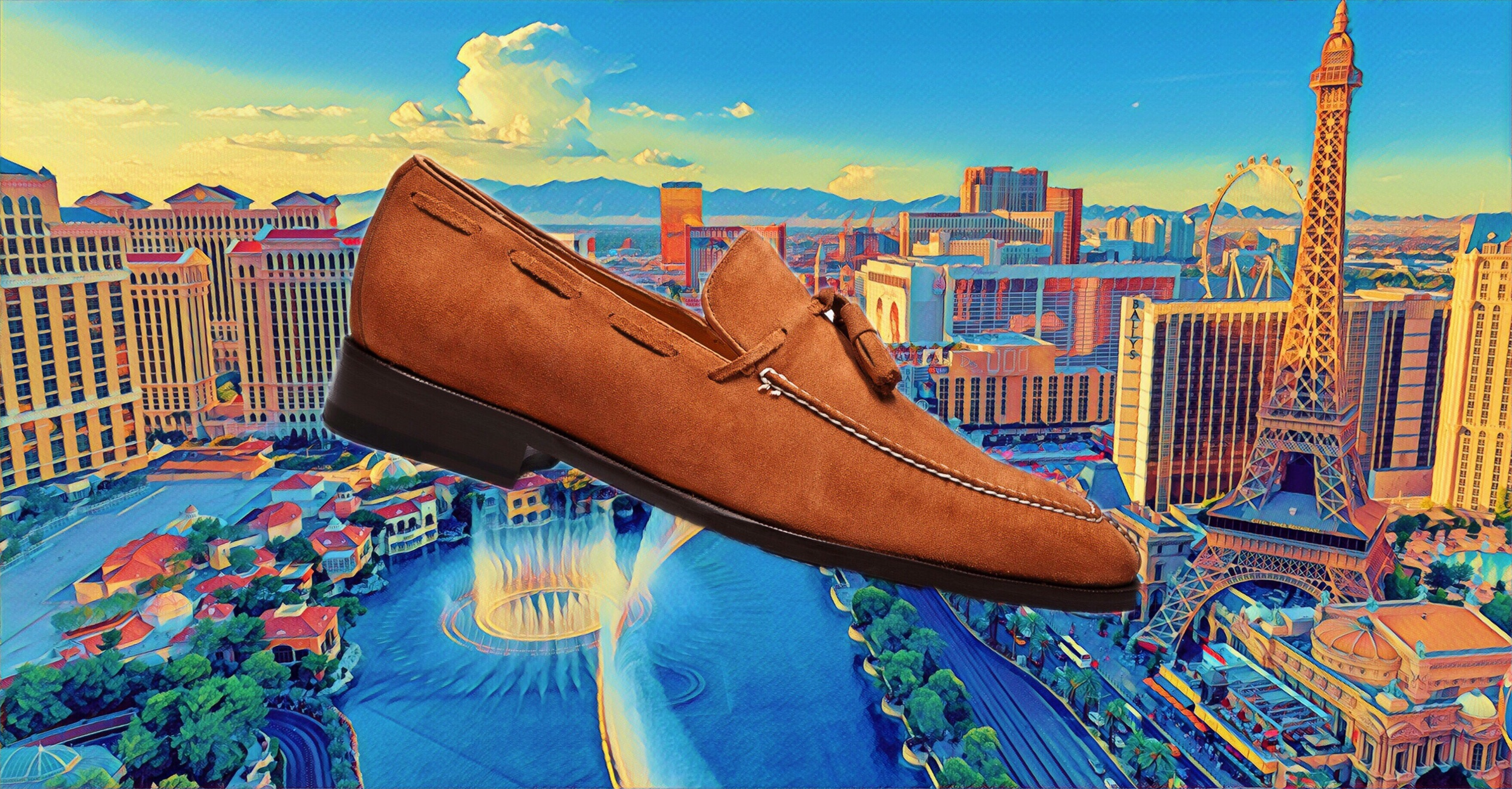 The 9502 Suede Tassel Loafer