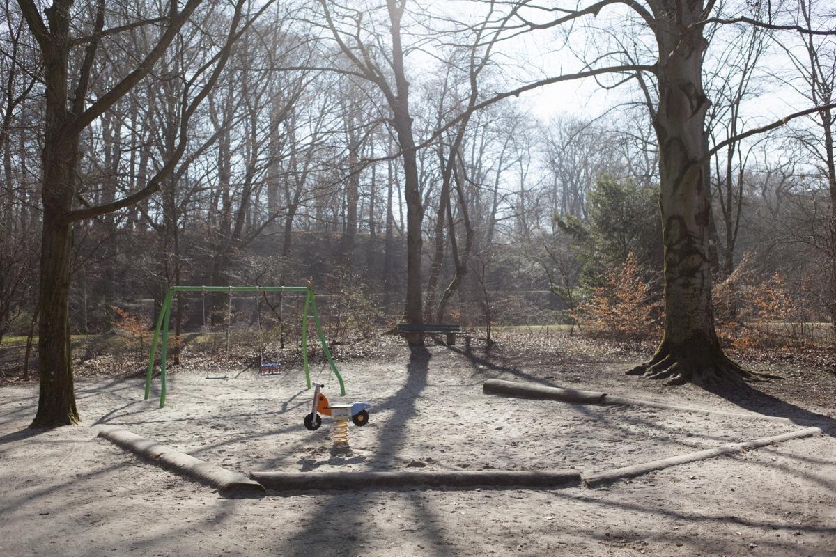 Spielplatz im Englischen Garten