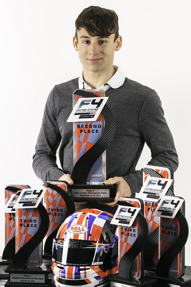 Teddy Wilson F4 US trophy winner