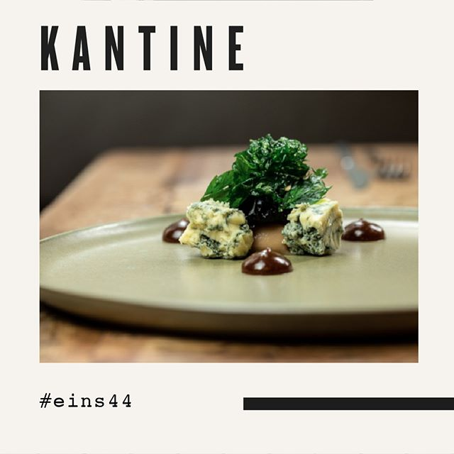 Zum Abschluss des Menüs noch Käse. Blue Stilton. . . . . #eins44 #kantineneukoelln #finediningberlin #kulinarischeart #stilton
