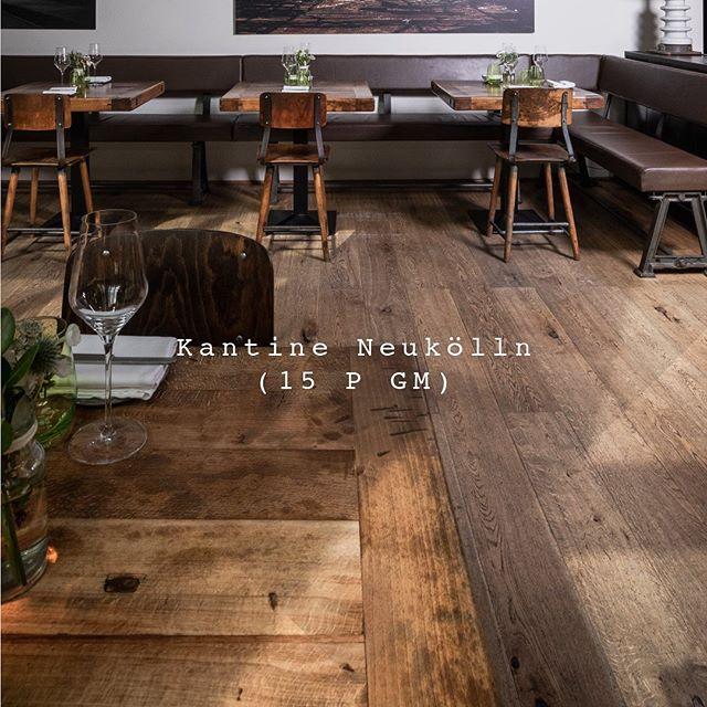 eins44 - Kantine Neukölln: Kulinarisches Erlebnis im Industriedesign . . . . #eins44 #kantineneukoelln #industriehalle #holzliebe #erlebnis