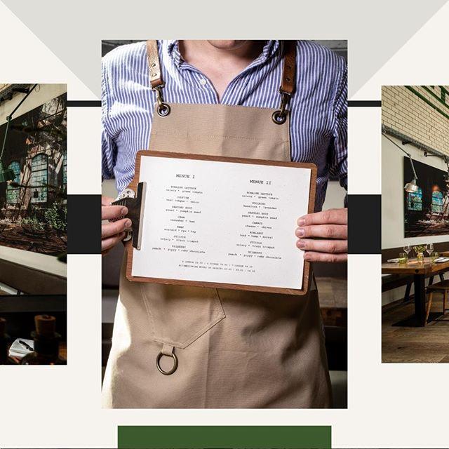 Speisekarte gefällig? . . . . #eins44 #kantineneukoelln #sechsgängemenues #empfehlungderkueche #foodieberlin
