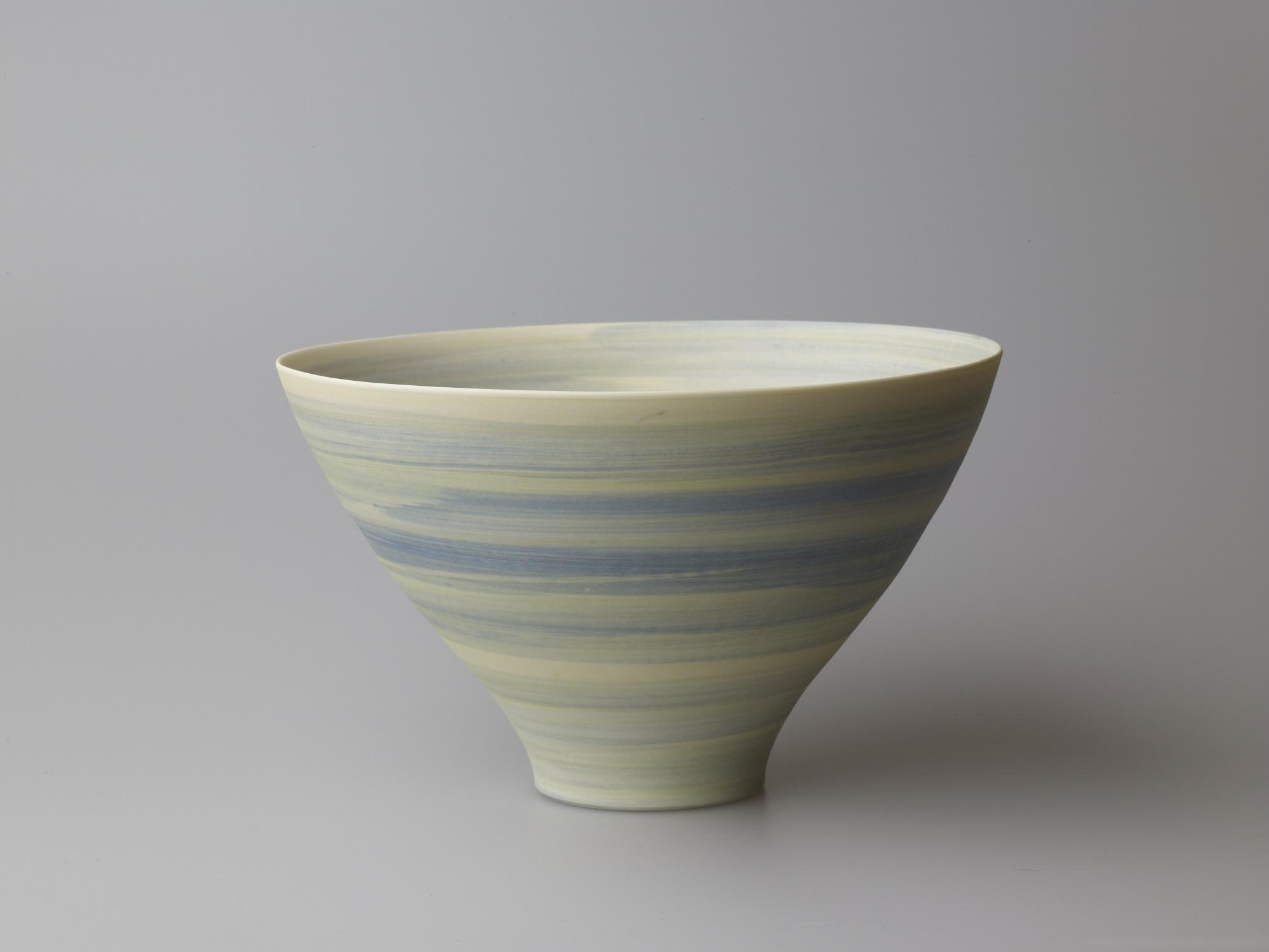 Large Blue/Green/Yellow Bowl  20 x 12.5 cm  £110
