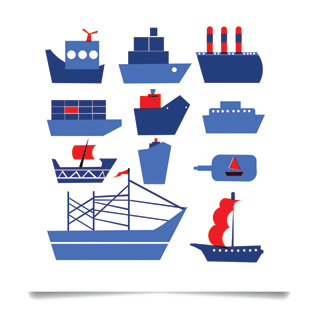 Ship Shape  screen print  £75 (unframed)