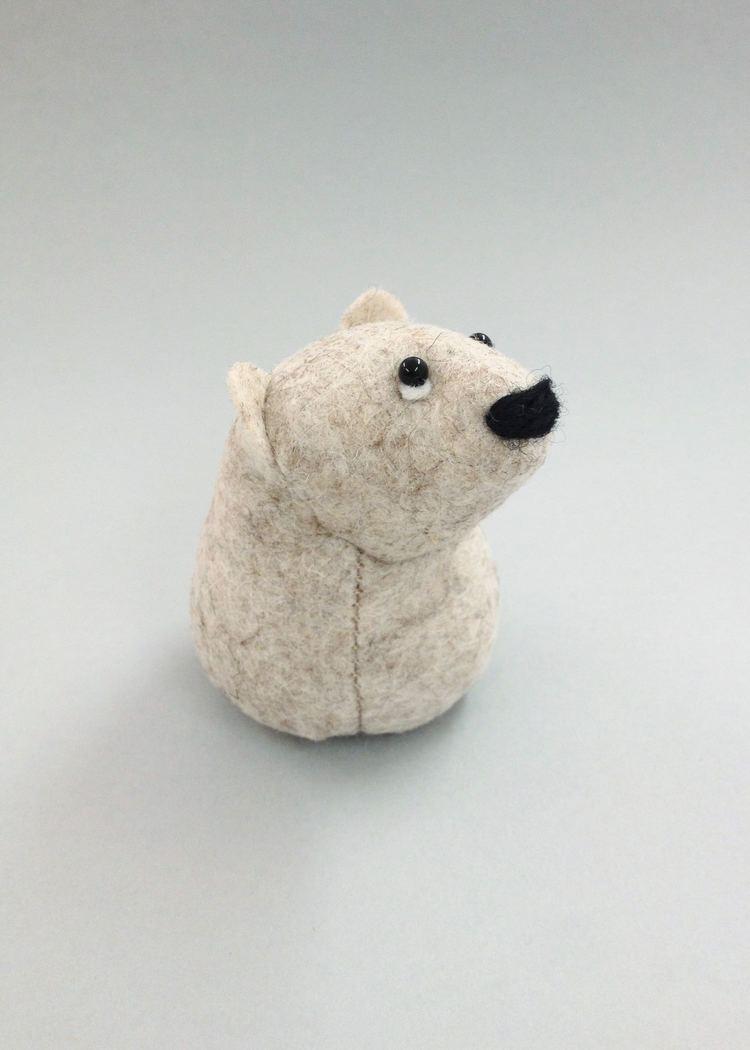 Onni the Polar Bear   felt