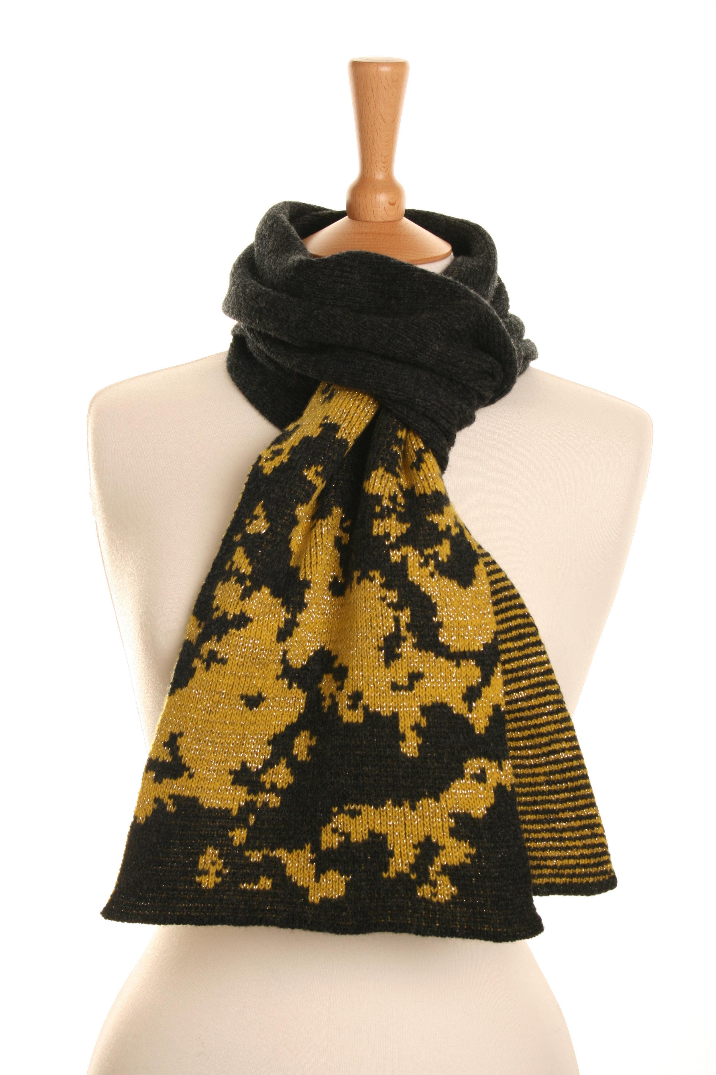 Picallili Lichen Sparkle  Knitted Lambswool  £75