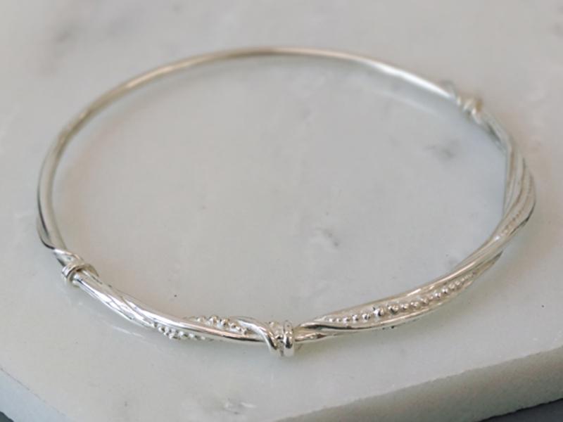 Torrent bangle  silver  £160