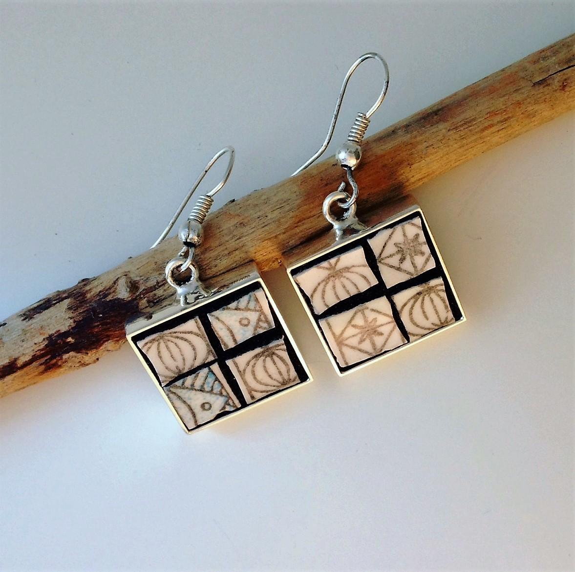 Square Earrings  £26