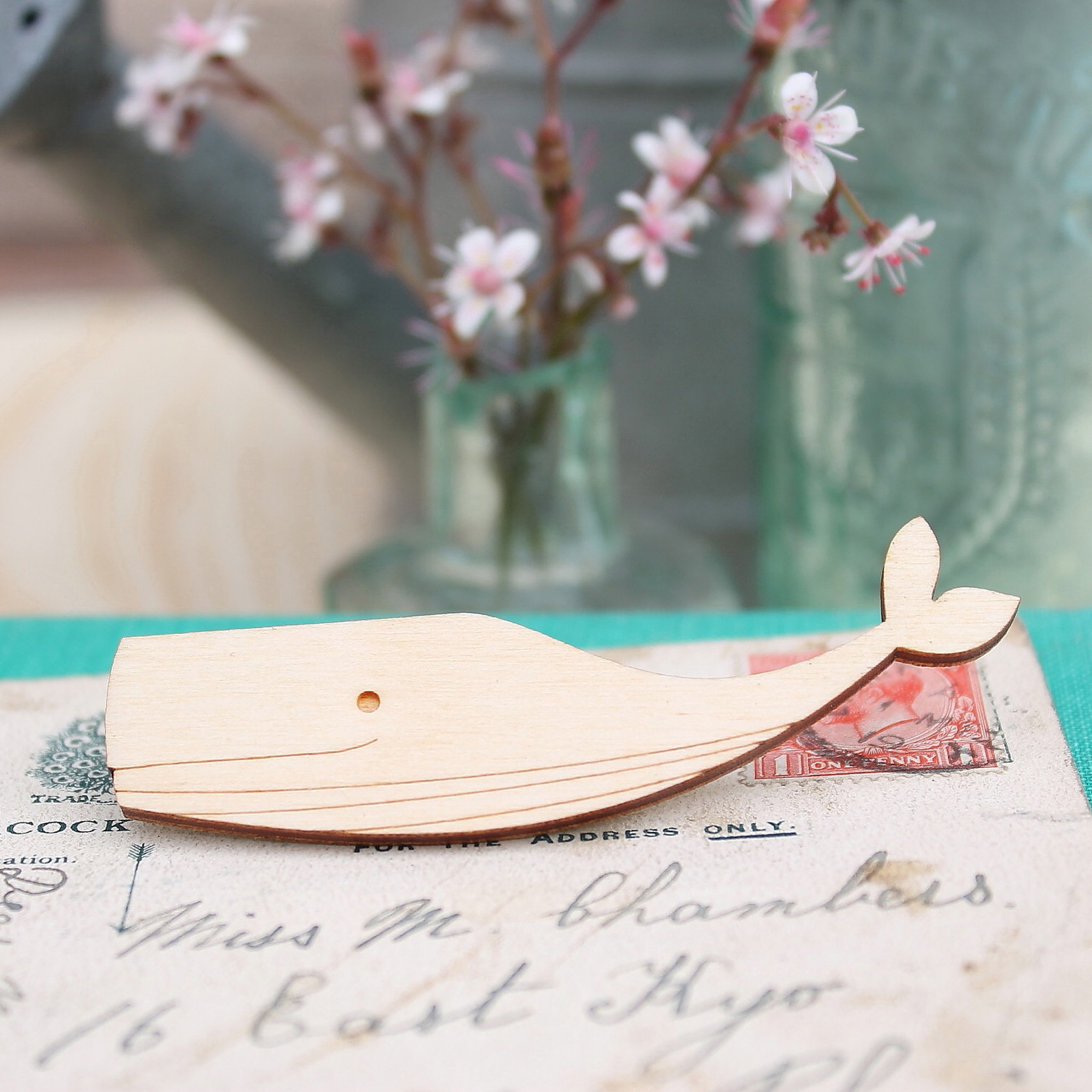 Whale Brooch  £10