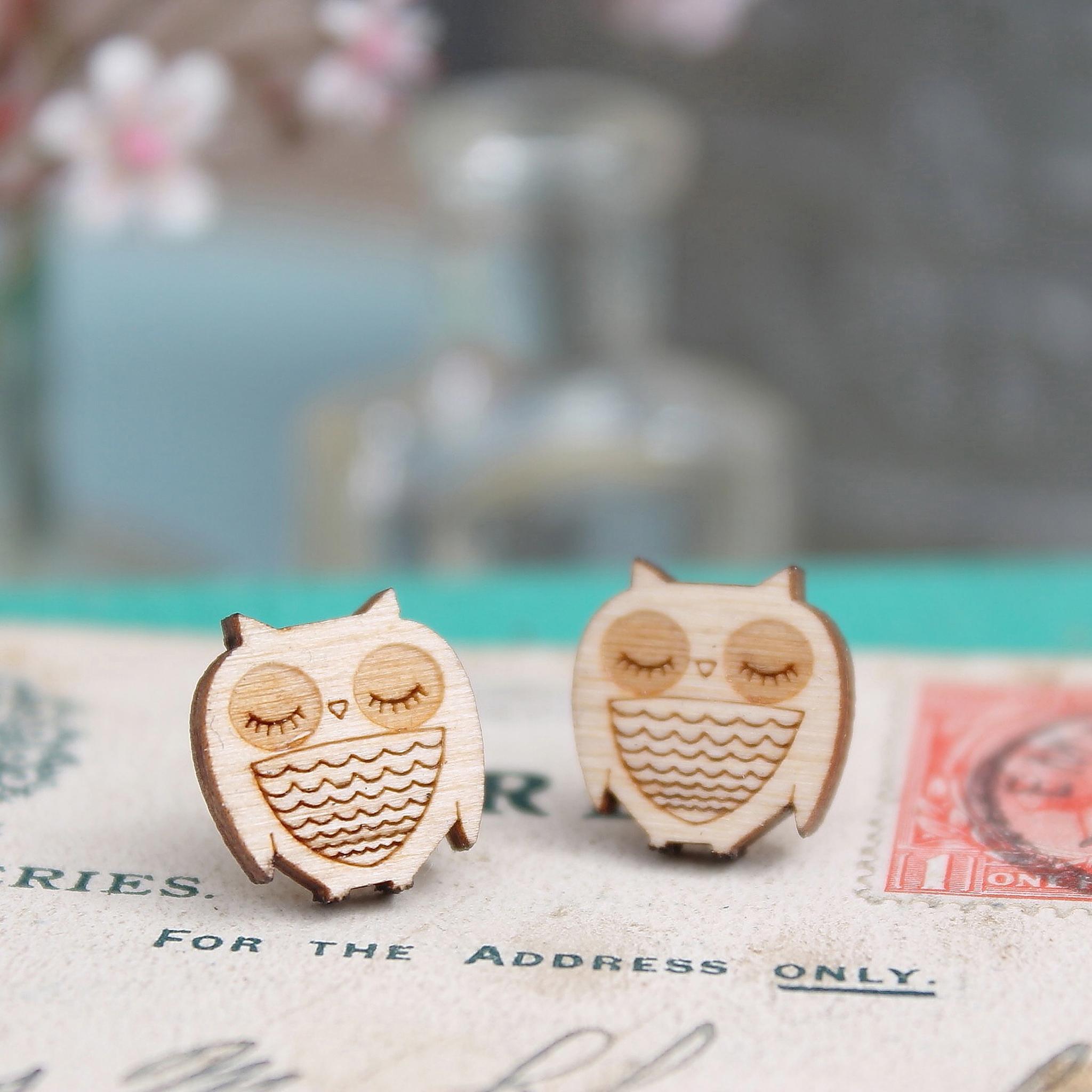 Owl Studs  £8.50