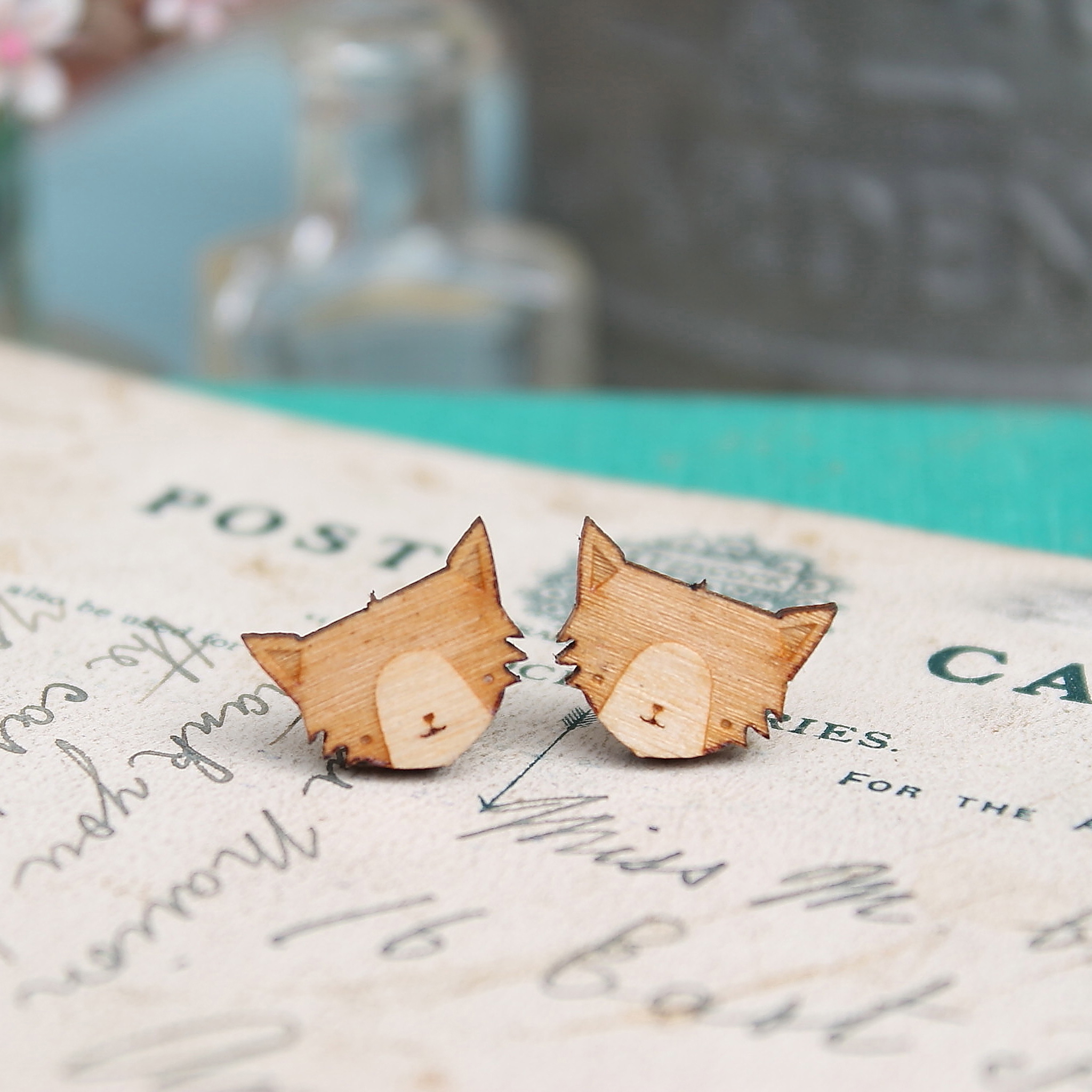 Cat Earrings  £8.50