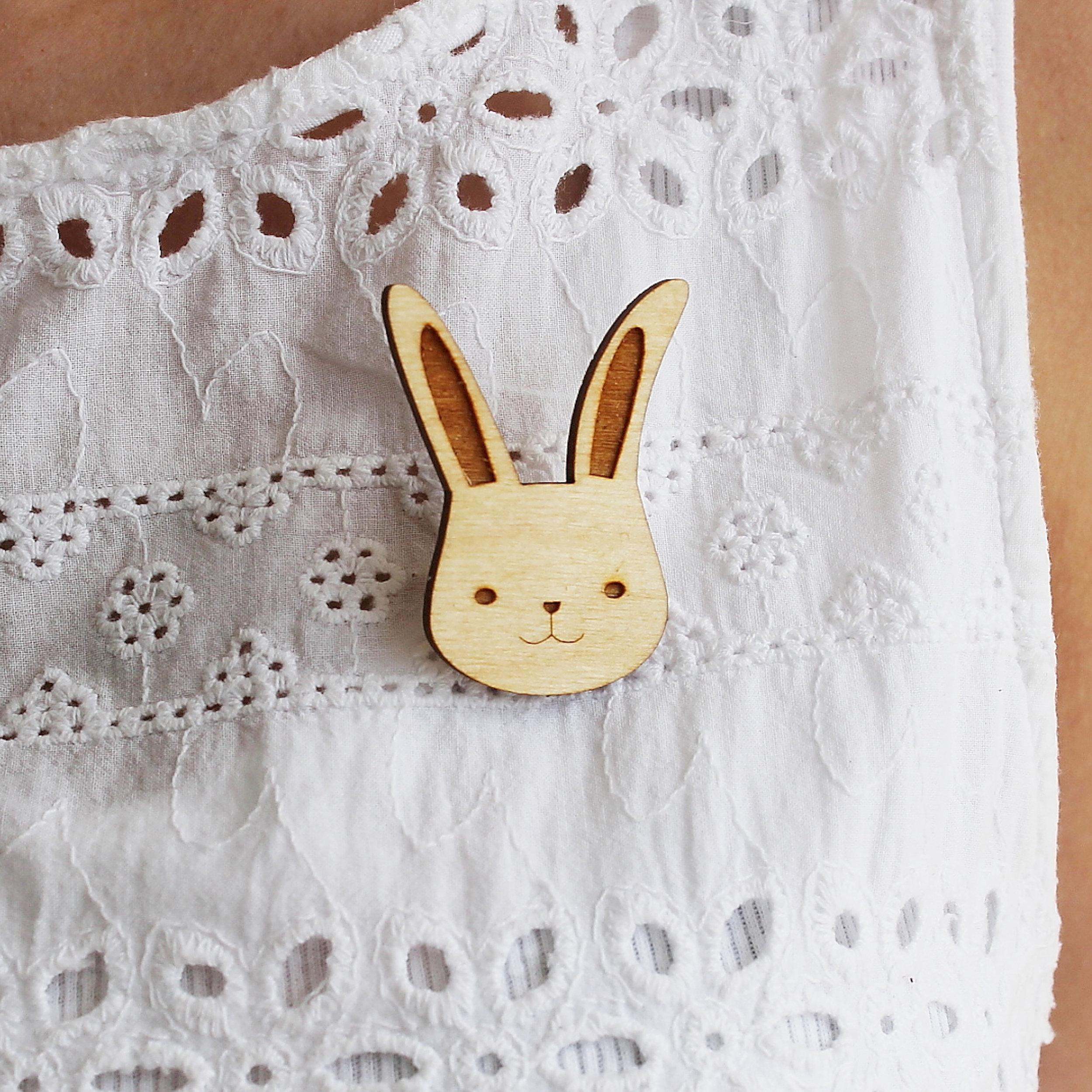 Bunny Brooch  £10