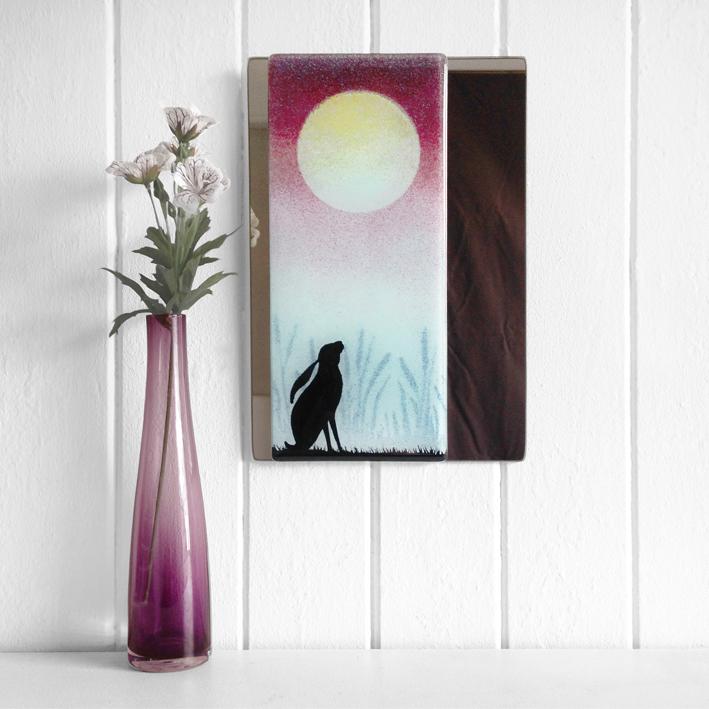 Hare Mirror  glass    £60