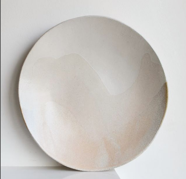 Blush Glacier Serving Platter  ceramic  5 x 30 cm approx.   £85