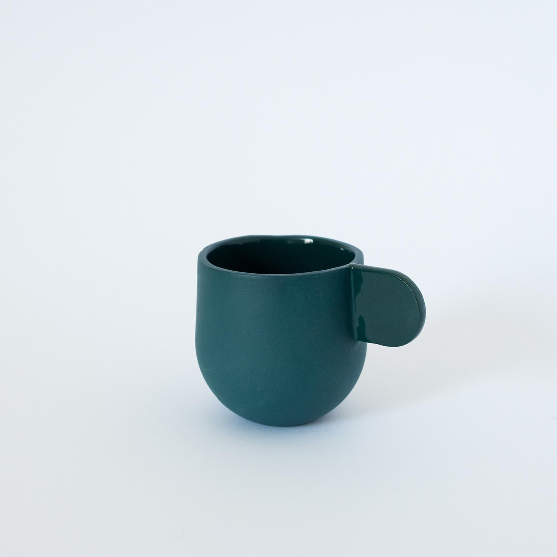 Espresso Cup Lagoon  Porcelain  6 x 6 x 8.5cm  £30