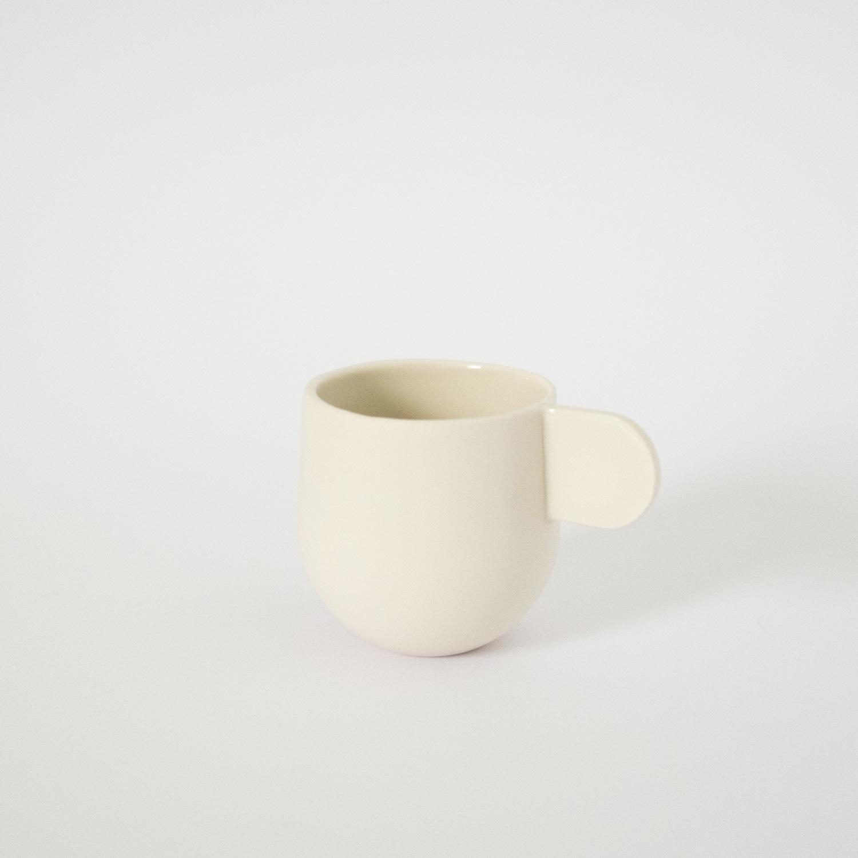 Espresso Cup White  Porcelain  6 x 6 x 8.5cm  £30