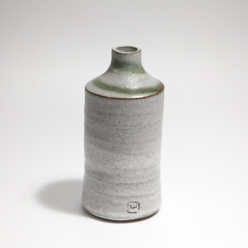 Tall Cylindrical Vase  ceramic  13 x 6.5 x 6.5 cm  £33