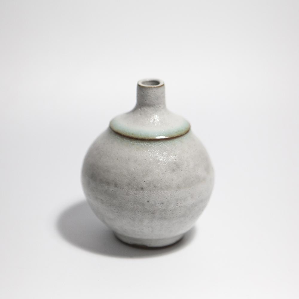 Globular Vase  ceramic  11 x 8.5 x 8.5 cm  £35