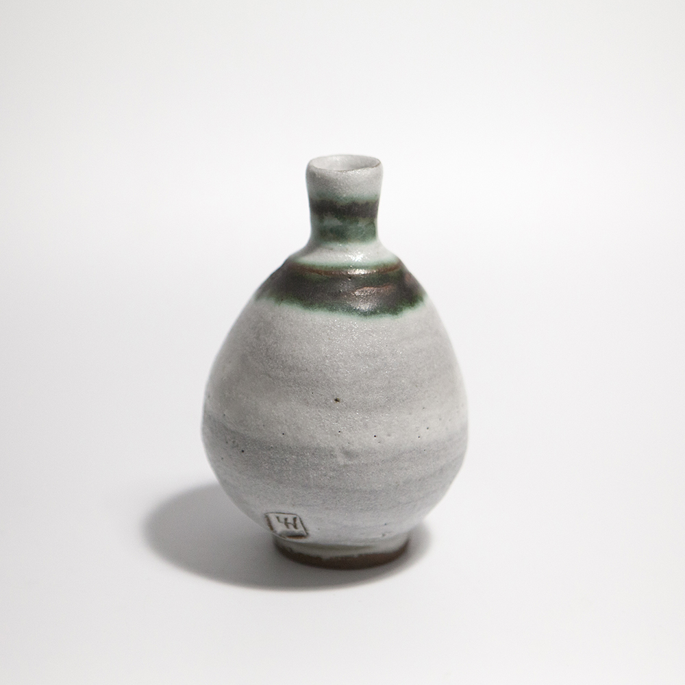 Globular Vase  ceramic  12 x 8.5 x 8.5 cm  £35