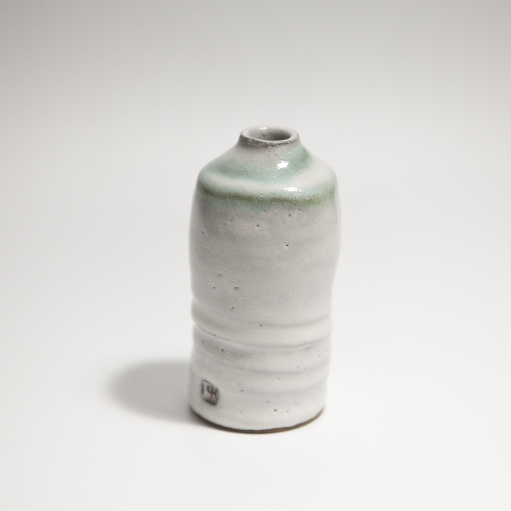 Tall Cylindrical Vase  ceramic  11 x 5.5 x 5.5 cm  £33
