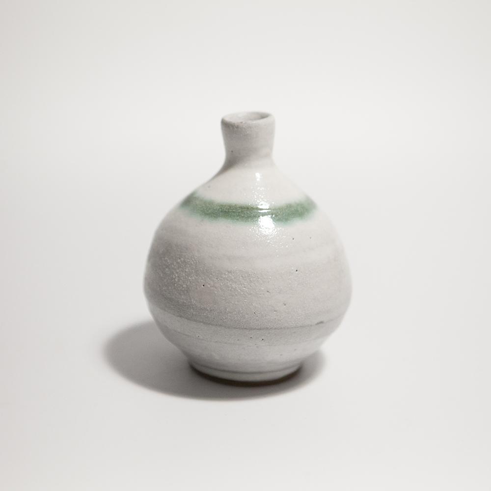 Globular Vase  ceramic  10.5 x 9 x 9 cm  £35