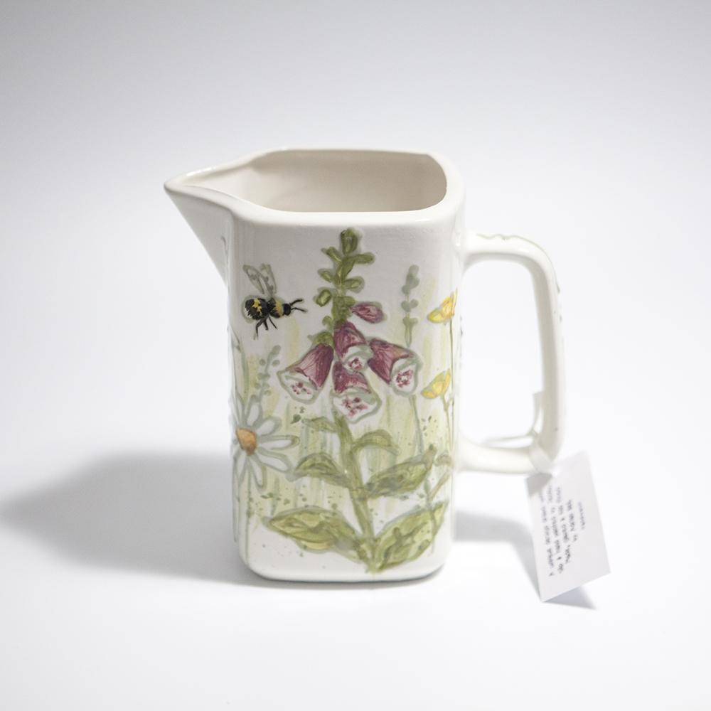 Dairy Jug 2  ceramic  13.5 x 13.5 x 7.5 cm  £37