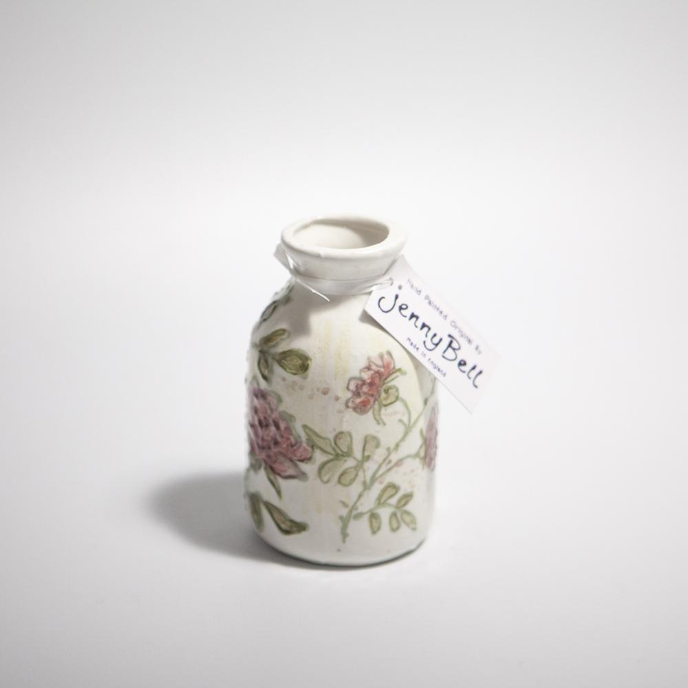 Posy Vase  ceramic  10.5 x 6.5 x 6.5 cm  £19
