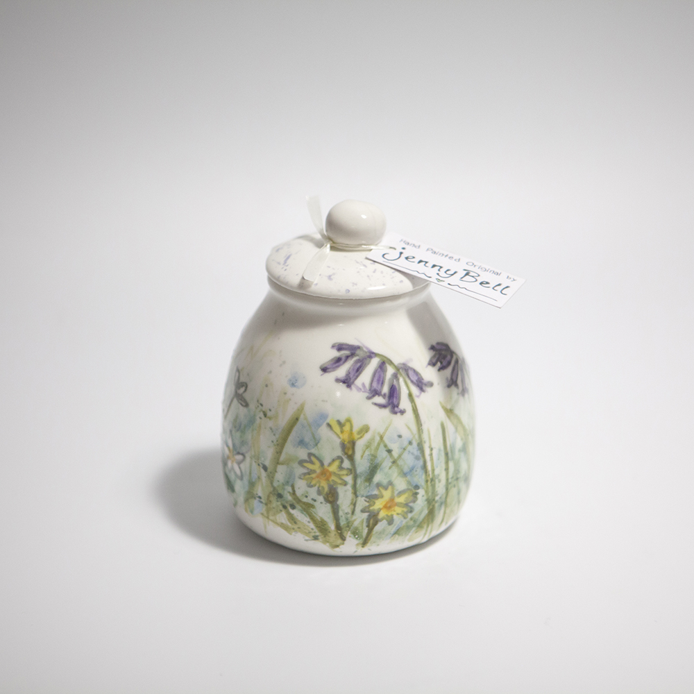 Ginger Jar  ceramic  13 x 8.5 x 8.5 cm  £25