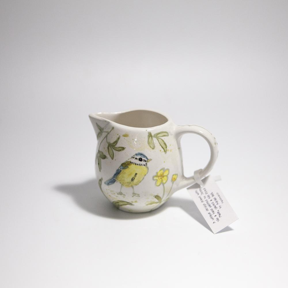 Milk Jug 1  ceramic  8 x 11 x 8 cm  £18
