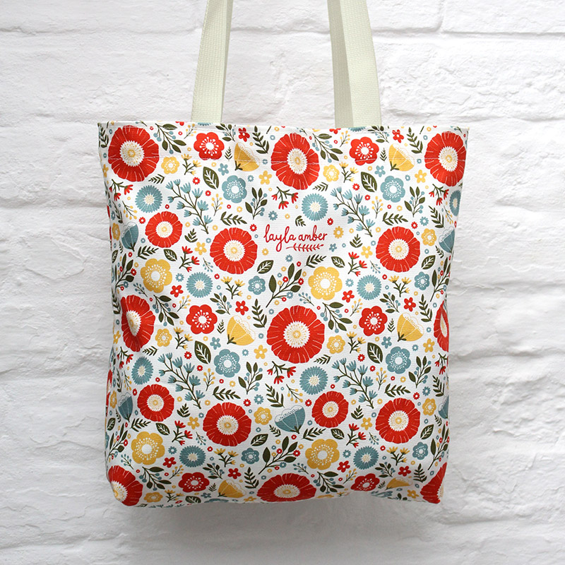 In Bloom Bag  cotton  37 x 37 cm  £22