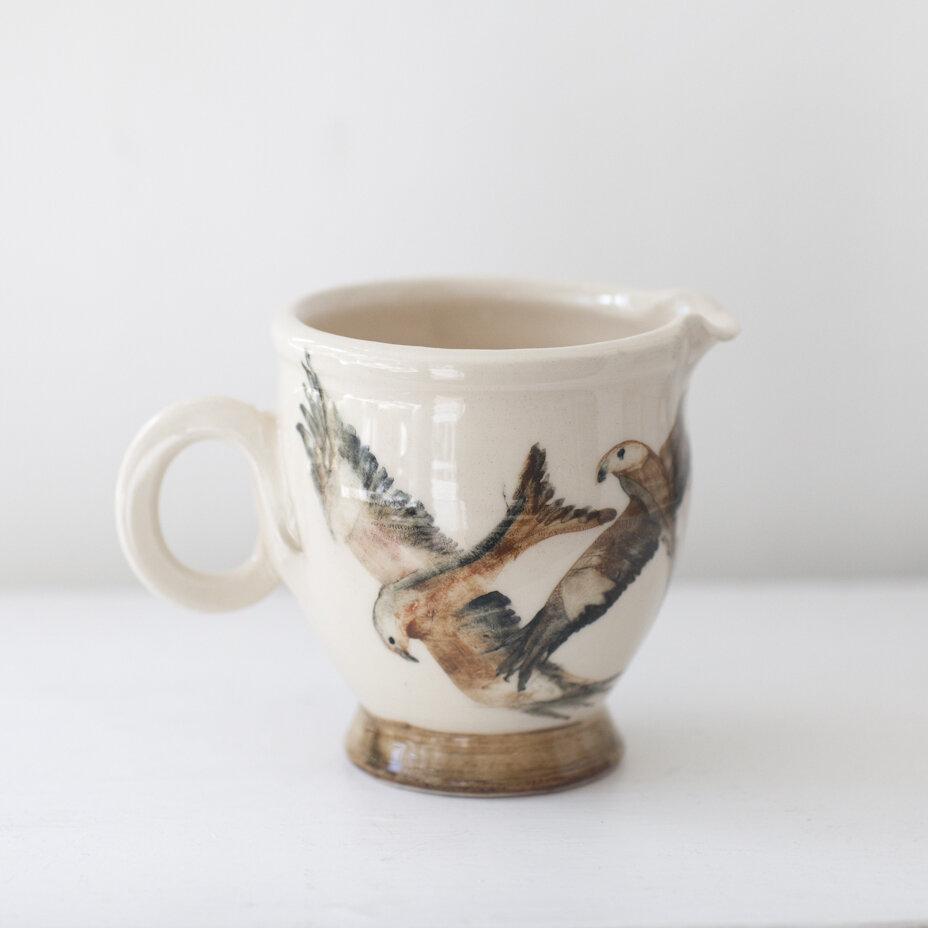 Ceramic Jug  11 cm high  £30