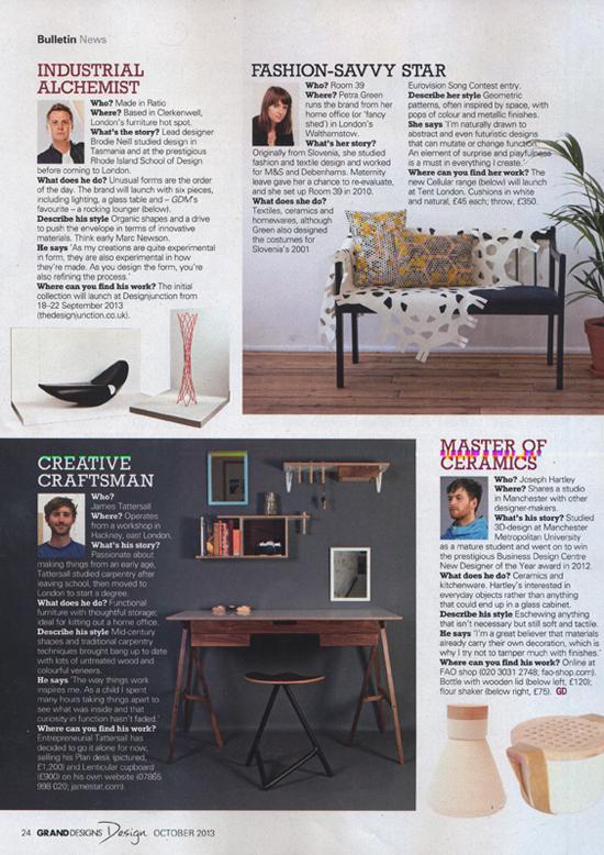 Grand Designs Magazine, September 2013