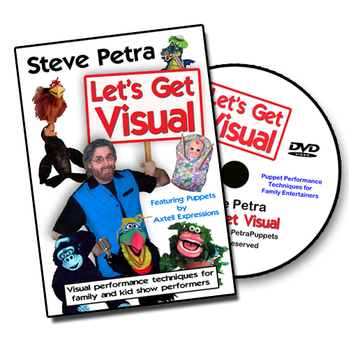 Steve Petra Let's Get Visual DVD