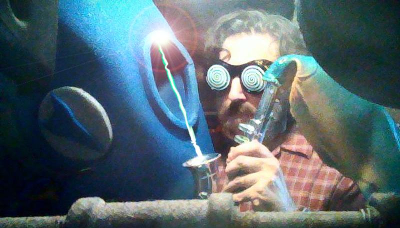 Steve in his workshop