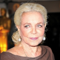 Lauren Bacall aged with grace and remained beautiful