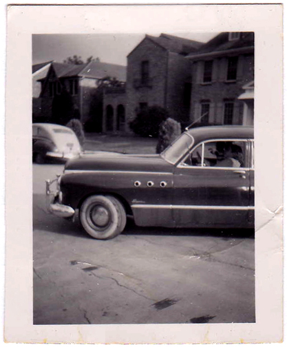 Above:  1950s Buick.