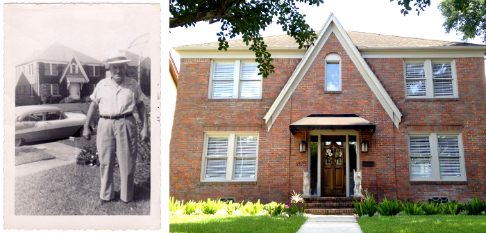 Above:  1825 Marshall – Then (1957) and Now (2014).