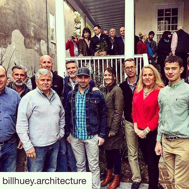 Thank you @billhuey.architecture! We miss you @thisoldhouse @kevinoconnortoh ... hope you come back to Charleston soon! #thisoldhouse #charleston #restoration #renovation #historic
