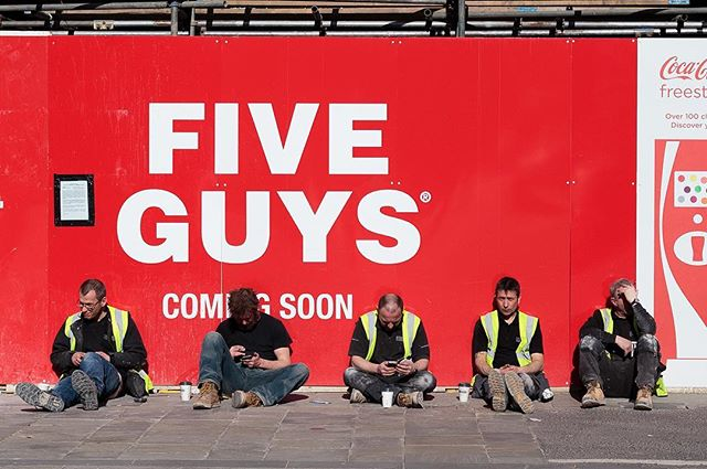 Five Guys  #streetphotography