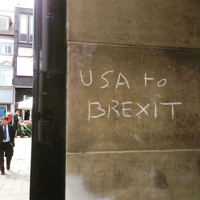 I hope this person didn't vote. #brexit