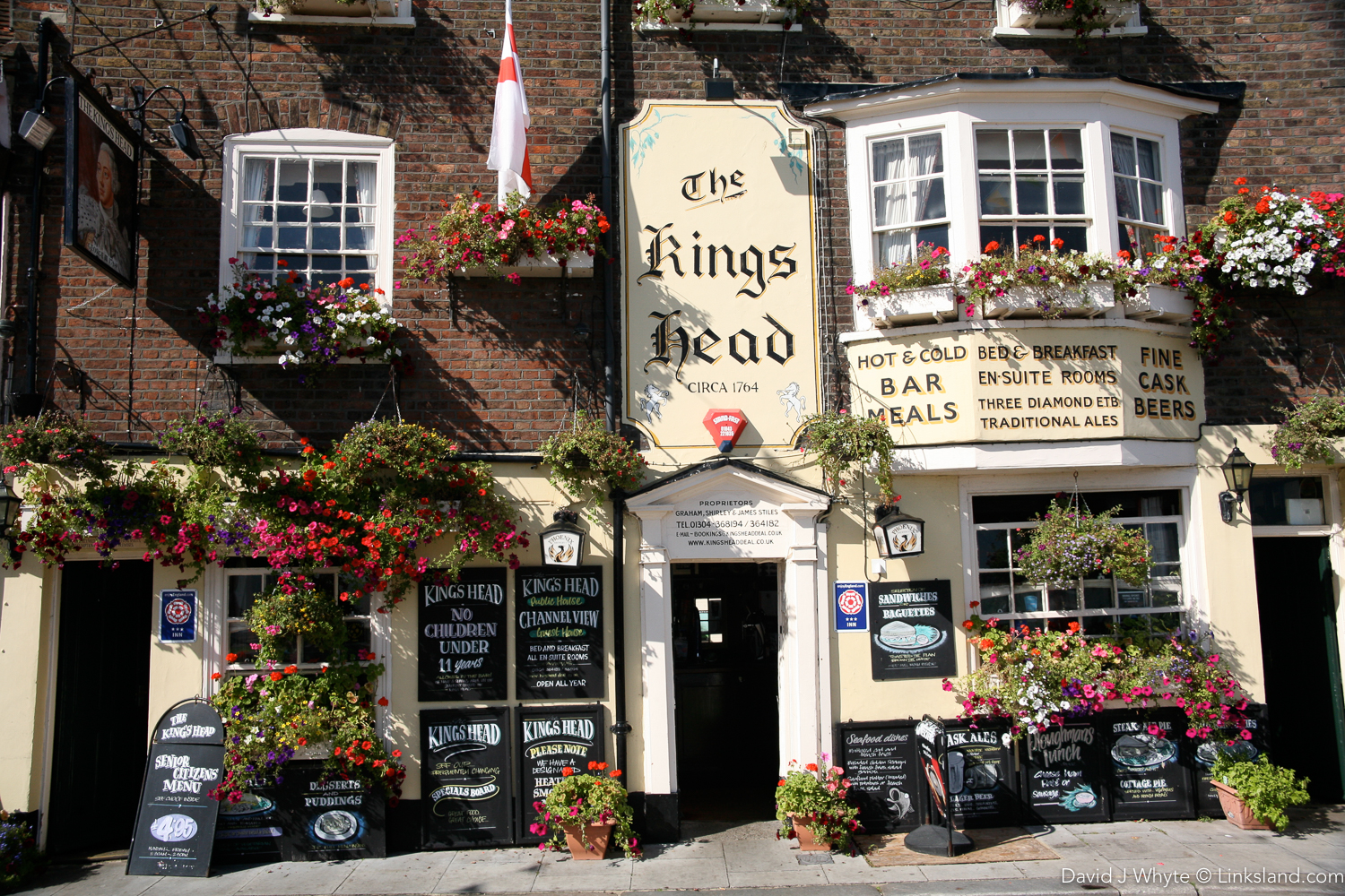 Deal's full of charming hostelries that all offer the most wonderful beers