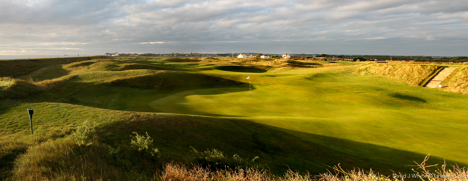In a strong breeze, 'Deal' or Royal Cinque Ports Golf Club to be more formal was the toughest of my trip.