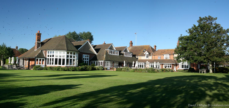 Some English golf clubs still retain a certain air...
