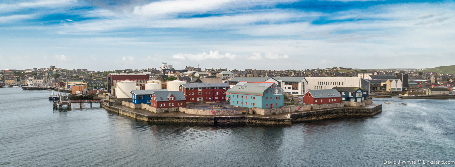 Lerwick and most of Shetland is looking more like Norway these days with new, more heat-efficient buildings and homes.