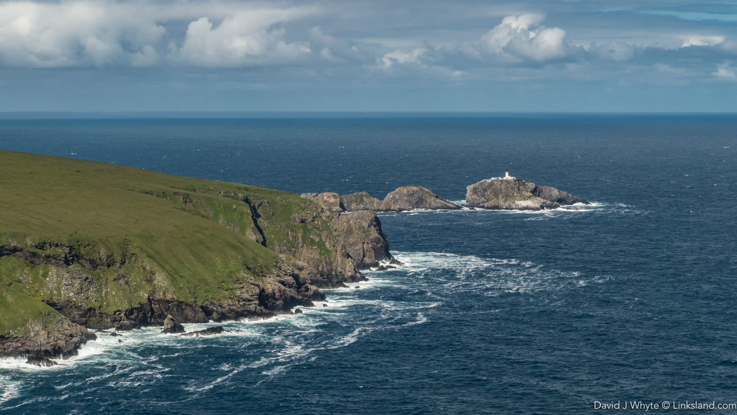 Muckle Flugga, the last outpost of the great British Isles