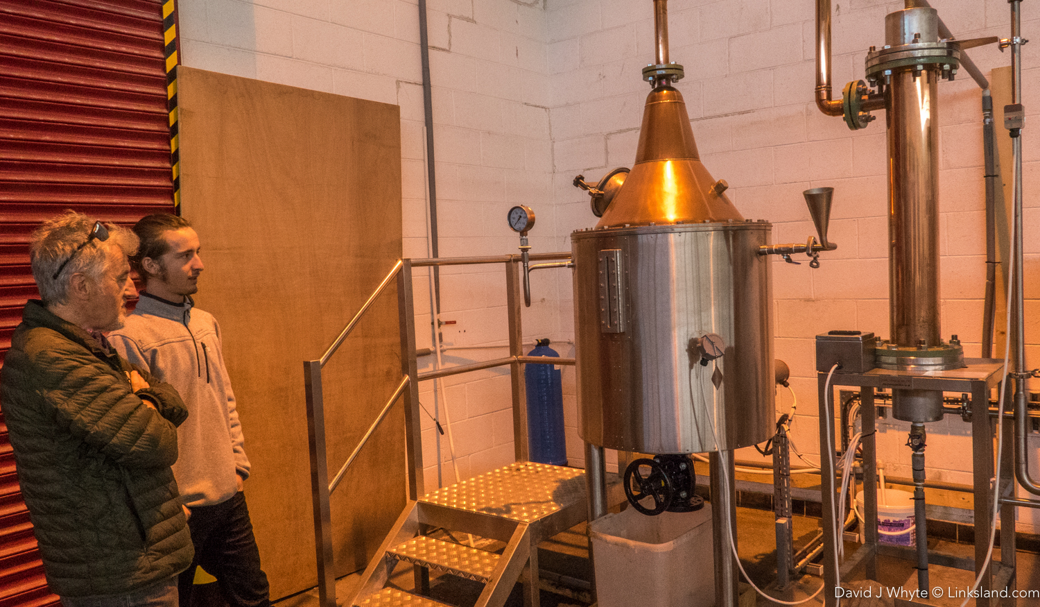 Shetland Distilleries' Gin Still soon to be joined by a whisky still