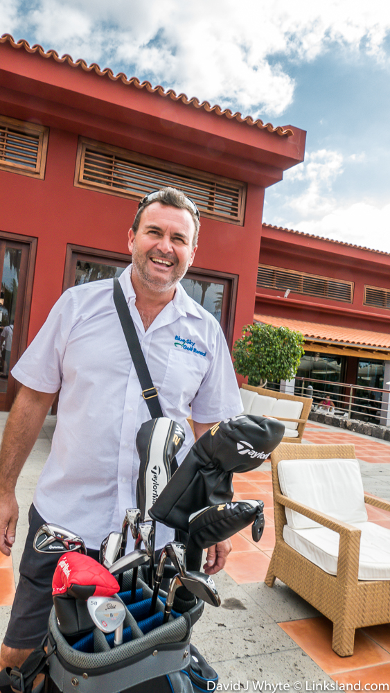Why go to the trouble and expense of bringing your own clubs when Martin Isaacson of Blue Sky Golf Rental can deliver the latest sets and specs straight to your hotel or first round of the week. T: 0034 618 438 826, E:Tenerife@blueskygolf-rental.com, www.blueskygolf-rental.com
