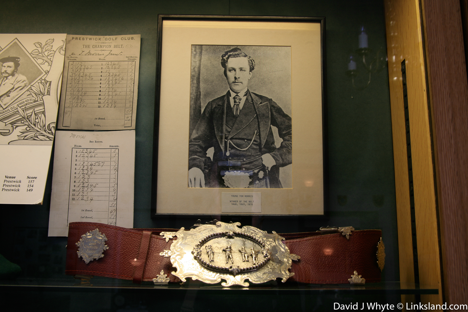 Young Tom Morris won the Open Championship four times in a row at Prestwick by the age of 21. No one has repeated this singular feat since!