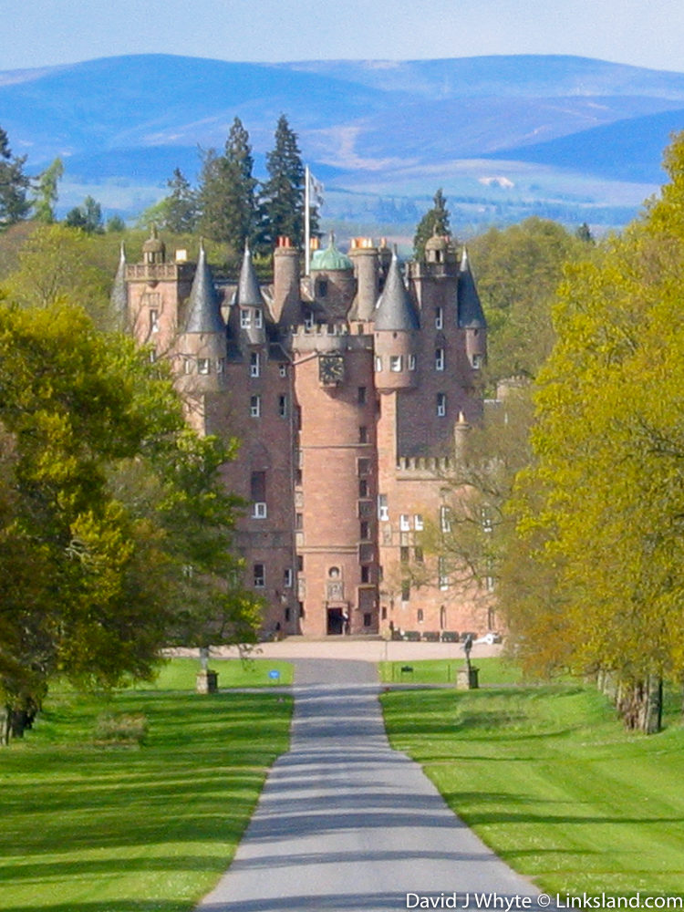 Glamis Castle was the setting for Shakespeare's tragedy, Macbeth and the childhood home of HM, The Queen Mother